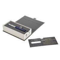 Kép 4/5 - Parker Royal Sonnet Töltőtoll Special Edition Atlas Blue/Silver 18 Karátos arany