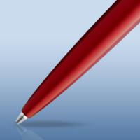 Kép 2/5 - Waterman Graduate Allure Golyóstoll Red