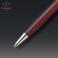 Kép 6/7 - Parker Royal Sonnet Premium Golyóstoll Metal Red Króm klipsz