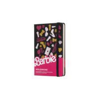 Kép 1/6 - Moleskine Notesz Barbie Kiegészítők Kemény Fekete