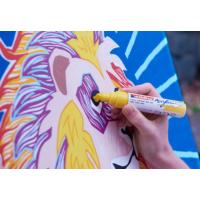 Kép 8/16 - Edding 5000 Akril marker B 5-10 mm Neon orange