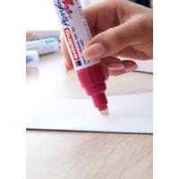 Kép 16/16 - Edding 5000 Akril marker B 5-10 mm Traffic red