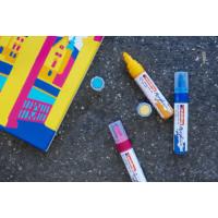 Kép 5/16 - Edding 5000 Akril marker B 5-10 mm Pastel blue