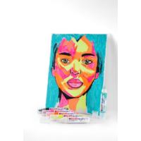 Kép 14/16 - Edding 5000 Akril marker B 5-10 mm Turquoise