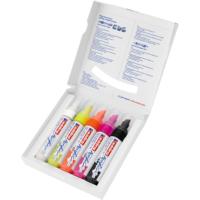 Kép 3/4 - Edding 5000 Akril marker 5 db-os készlet B 5-10 mm Neon színek