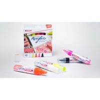 Kép 4/4 - Edding 5000 Akril marker 5 db-os készlet B 5-10 mm Neon színek