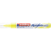 Kép 2/9 - Edding 5100 Akril marker M 2-3 mm Neon yellow