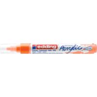 Kép 2/9 - Edding 5100 Akril marker M 2-3 mm Neon orange