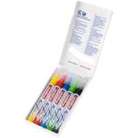 Kép 3/3 - Edding 5100 Akril marker 5 db-os készlet M 2-3 mm Alap színek