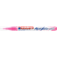 Kép 2/8 - Edding 5300 Akril marker F 1-2 mm Neon pink