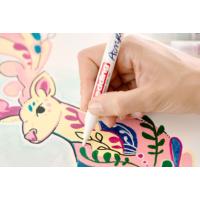 Kép 8/8 - Edding 5300 Akril marker F 1-2 mm Neon pink