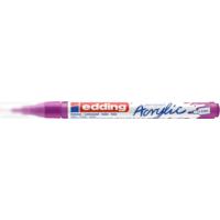 Kép 2/8 - Edding 5300 Akril marker F 1-2 mm Berry