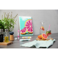 Kép 9/9 - Edding 5400 Akril marker 3D Double liner 2-3 mm/5-10 mm Neon orange