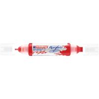 Kép 1/9 - Edding 5400 Akril marker 3D Double liner 2-3 mm/5-10 mm Traffic red