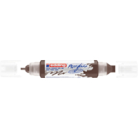 Kép 1/9 - Edding 5400 Akril marker 3D Double liner 2-3 mm/5-10 mm Chocolate brown