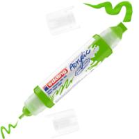 Kép 3/9 - Edding 5400 Akril marker 3D Double liner 2-3 mm/5-10 mm Yellow green