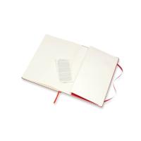 """Kép 4/4 - Moleskine Skiccfüzet Sketch Piros """"A4"""" Méret Álló"""