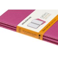 """Kép 5/5 - Moleskine Jegyzetfüzet Cahier 3db Élénk Pink """"P"""" Méret Vonalas"""