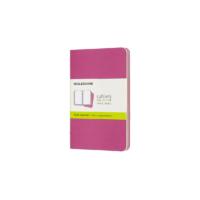 Kép 1/5 - Moleskine Jegyzetfüzet Cahier 3db Élénk Pink