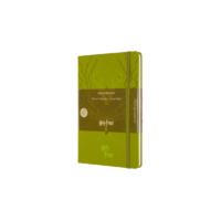 """Kép 1/6 - Moleskine Notesz Harry Potter 3/7 Kemény Világos Zöld """"L"""" Méret Vonalas"""