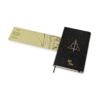 """Kép 5/7 - Moleskine Notesz Harry Potter 7/7 Kemény Fekete """"L"""" Méret Vonalas"""