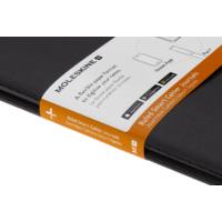 """Kép 2/2 - Moleskine Papertablet Cahier 2db Fekete """"L"""" Méret Vonalas"""