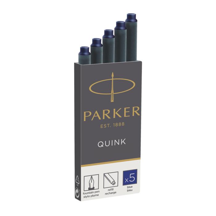 Parker Royal Tintapatron - Kék - 5db/doboz