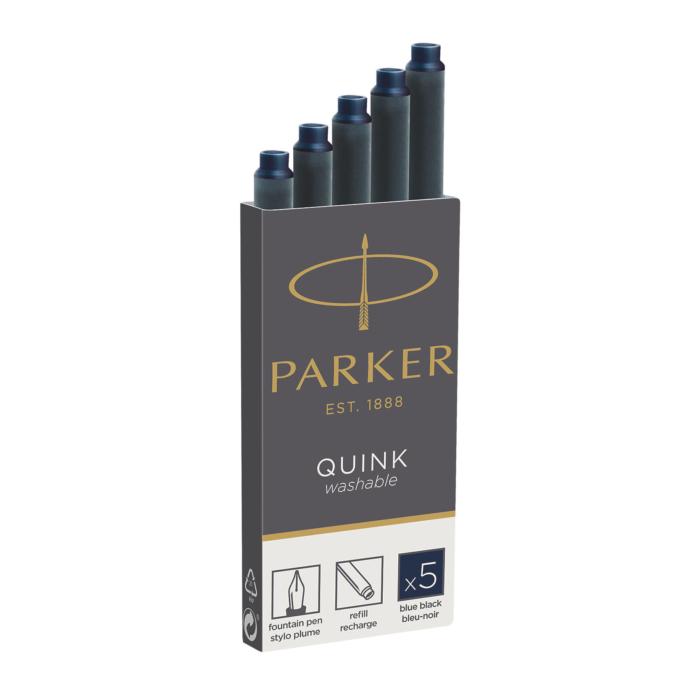 Parker Royal Tintapatron - Kékes-Fekete - 5db/doboz