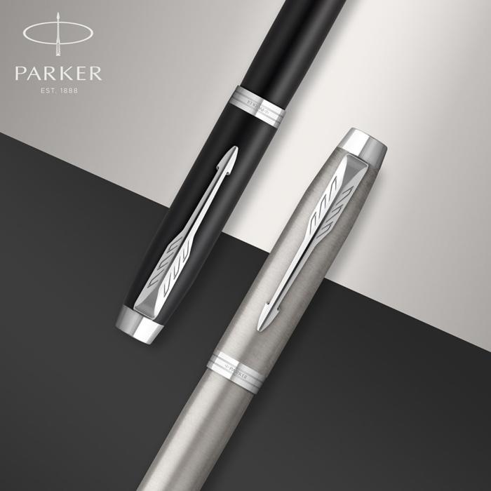 Parker Royal IM Essential Töltőtoll Stainless Steel Króm klipsz