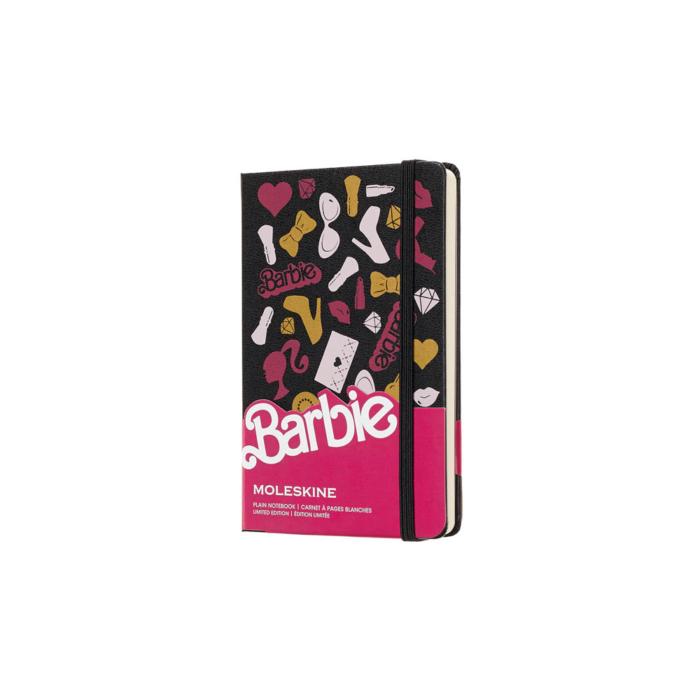 Moleskine Notesz Barbie Kiegészítők Kemény Fekete