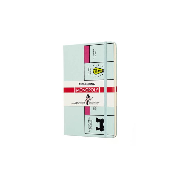 Moleskine Notesz Monopoly Játék Kemény FEHÉR