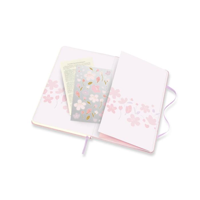 "Moleskine Notesz Sakura 2021 Kemény ""L"" Sima"