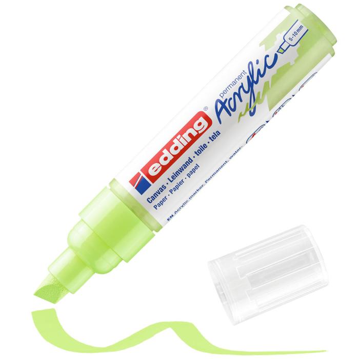 Edding 5000 Akril marker B 5-10 mm Pastel green