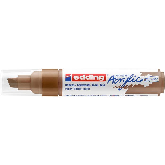Edding 5000 Akril marker B 5-10 mm Hazel