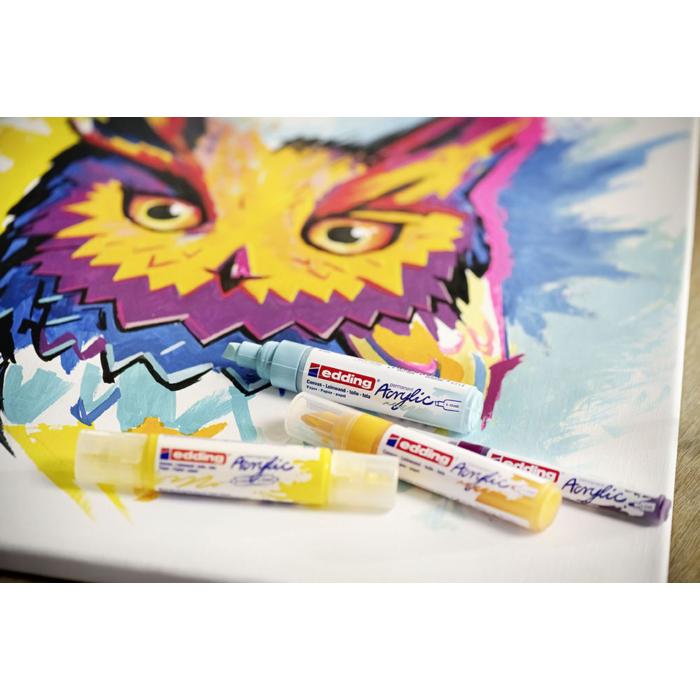 Edding 5000 Akril marker B 5-10 mm Mellow mint
