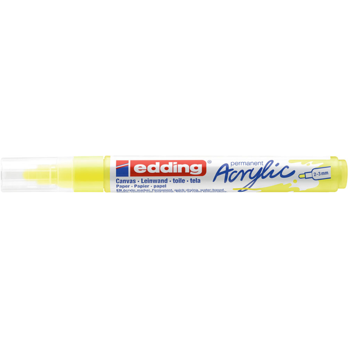 Edding 5100 Akril marker M 2-3 mm Neon yellow
