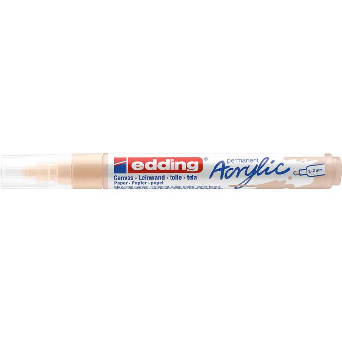 Edding 5100 Akril marker M 2-3 mm Warm beige