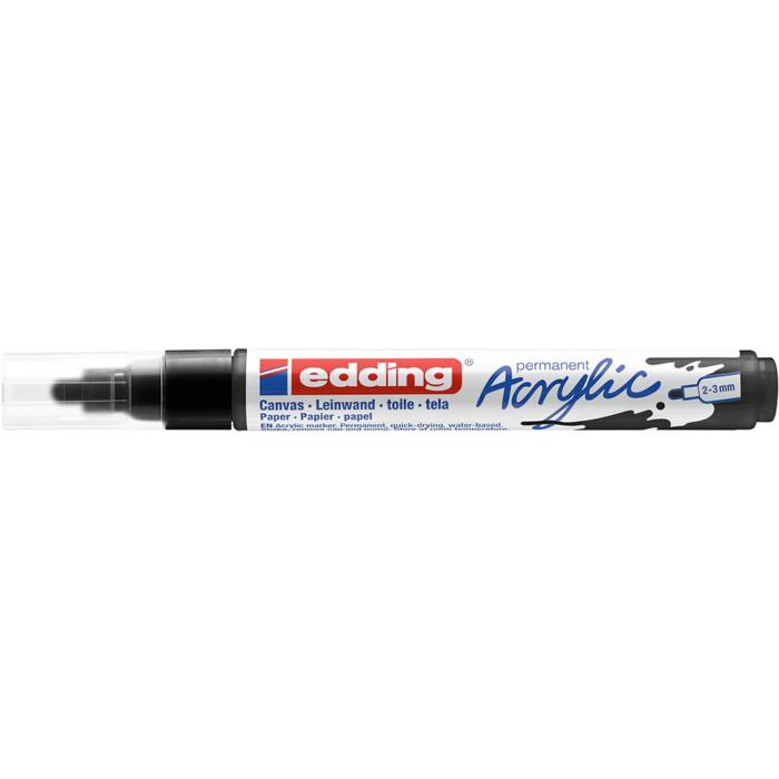 Edding 5100 Akril marker M 2-3 mm Black