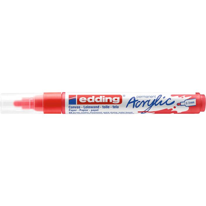 Edding 5100 Akril marker M 2-3 mm Traffic red