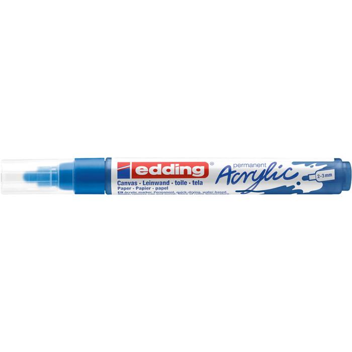 Edding 5100 Akril marker M 2-3 mm Gentian blue