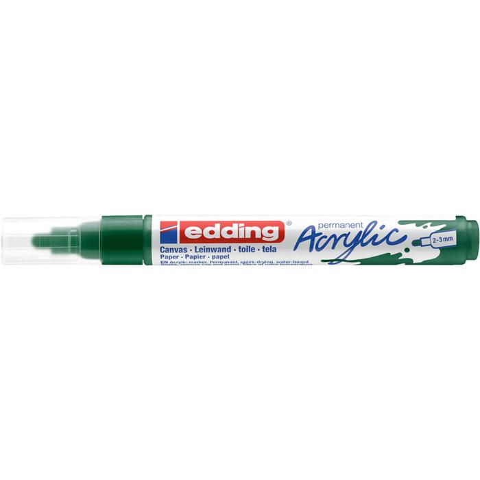 Edding 5100 Akril marker M 2-3 mm Moss green