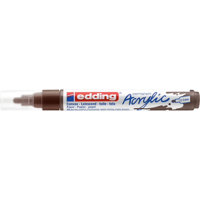 Edding 5100 Akril marker M 2-3 mm Chocolate brown