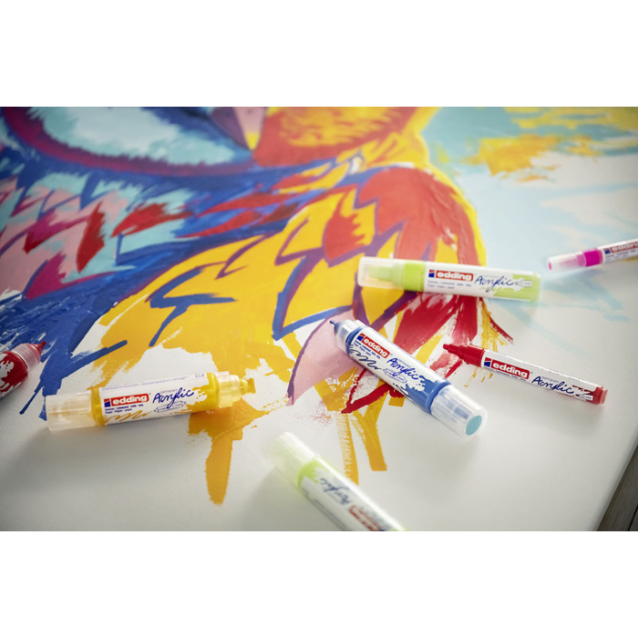 Edding 5100 Akril marker M 2-3 mm Pastel yellow