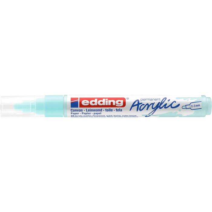 Edding 5100 Akril marker M 2-3 mm Pastel blue