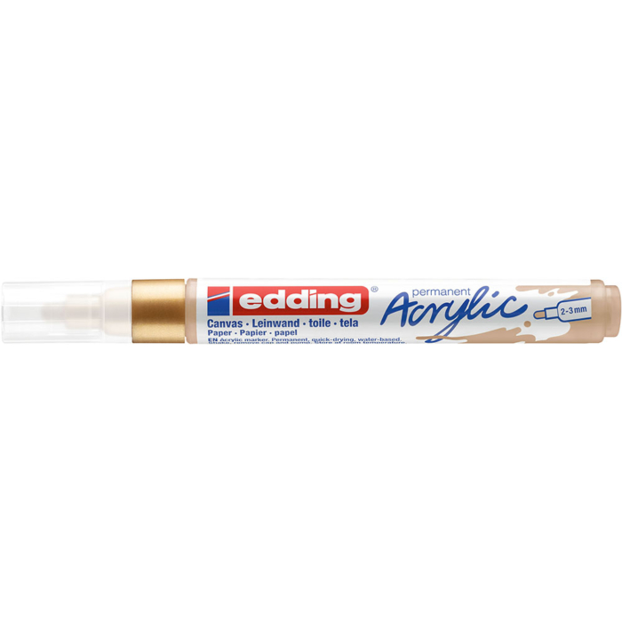 Edding 5100 Akril marker M 2-3 mm Rich gold