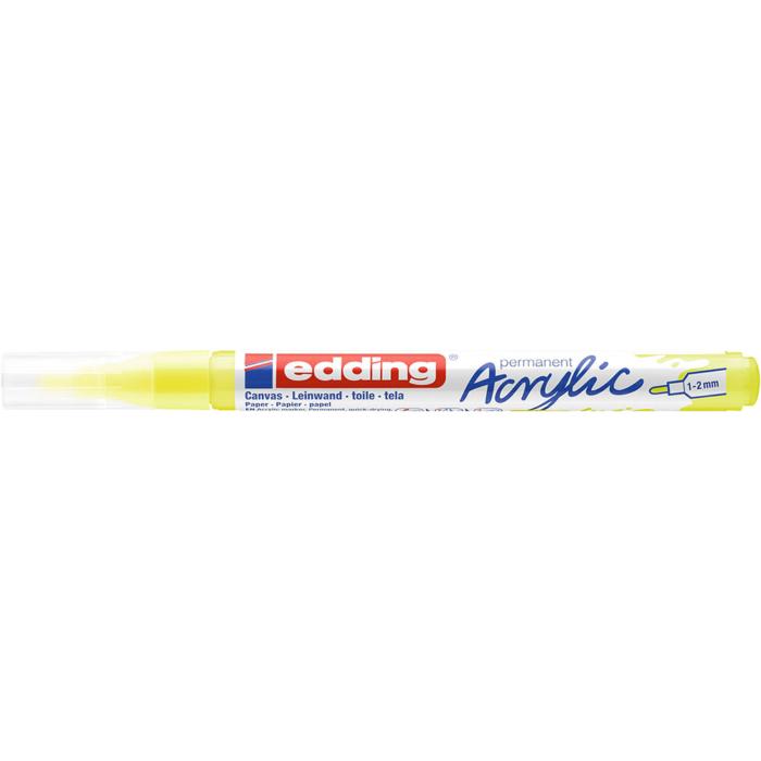 Edding 5300 Akril marker F 1-2 mm Neon yellow