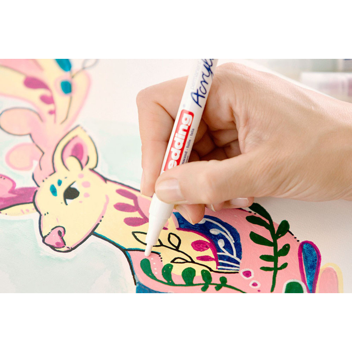 Edding 5300 Akril marker F 1-2 mm Neon pink