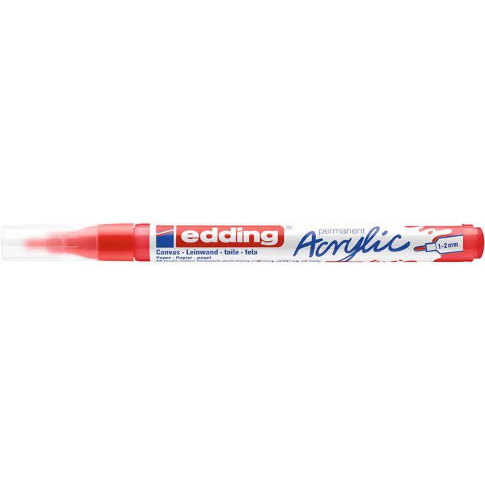 Edding 5300 Akril marker F 1-2 mm Traffic red