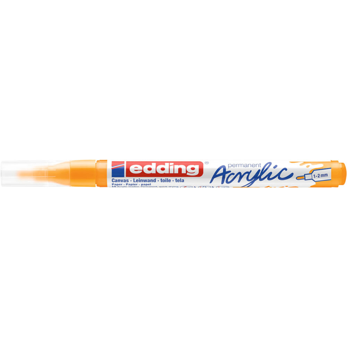 Edding 5300 Akril marker F 1-2 mm Sunny yellow