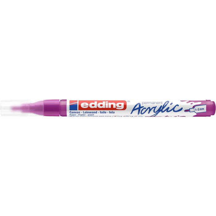 Edding 5300 Akril marker F 1-2 mm Berry